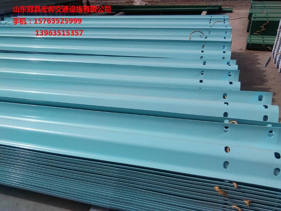 热镀锌护栏板批发 喷塑波形护栏板最近什么价 高速护栏板