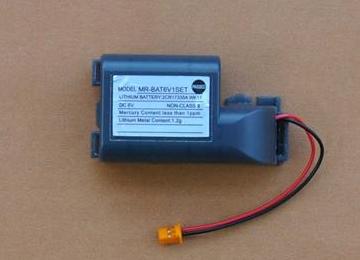 供应天津三菱伺服电池MR-BAT6V1SET现货特价
