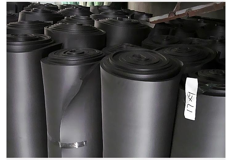 供应华能橡塑保温板,阻燃橡塑海绵,B1级难燃橡塑海绵
