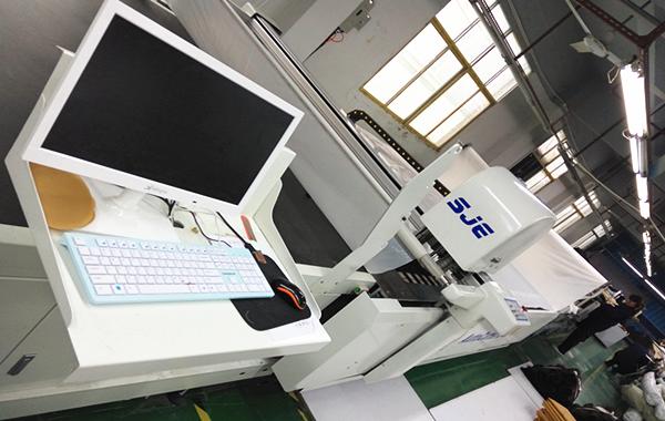 供应海绵裁剪机厂家直销优质服务  高层(多层)海绵'夹棉'面料裁剪