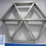 供应四川铝格栅 仿木纹铝格栅天花生产厂家 至金铝格栅