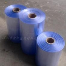 供应深圳收缩膜厂家PVC热收缩膜/袋  PVC筒 弧形袋定制批发图片