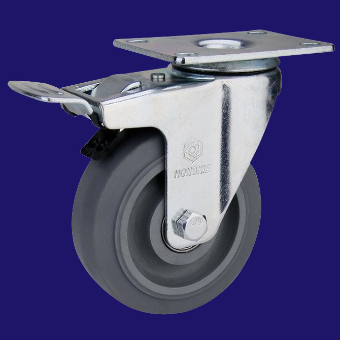 聚氨酯脚轮图片/聚氨酯脚轮样板图 (3)