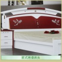 供应欧式烤漆床头 新百思特烤漆床头 欧式烤漆床头加工定做 简约现代欧式烤漆床头