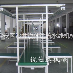 电子厂家生产流水线注塑五金输送机图片