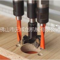 供应双头铰链钻孔机 木门合页钻孔设备 木工钻孔床 多头钻孔机 元成创机械