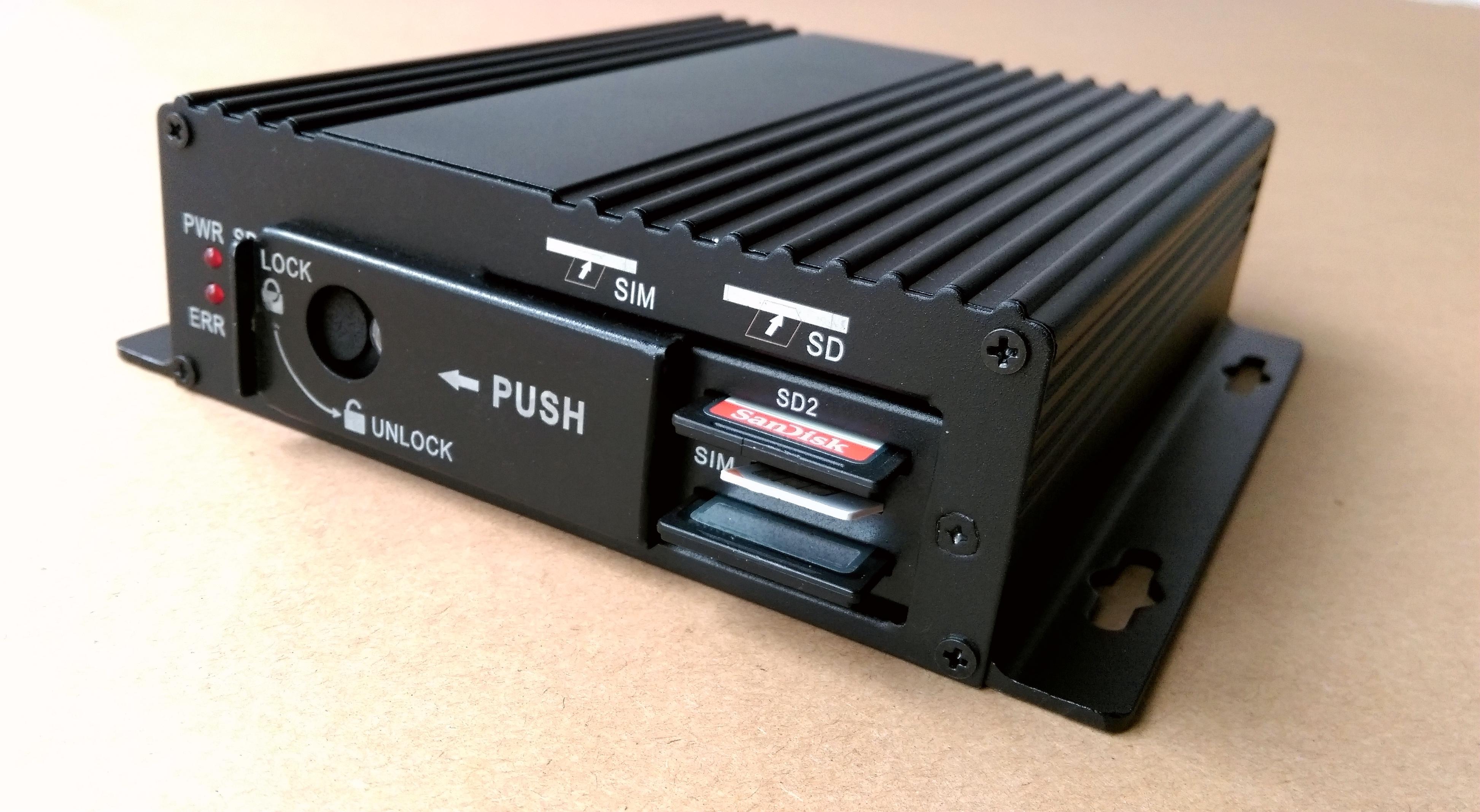 供应4G车载SD卡录像机