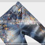 供应用于印花材料的东莞广印牌简便拔染 牛仔拔印浆