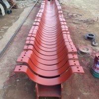 供应用于电力管道的J8管托 批发单耳吊板 槽钢补强圈 优质大小头生产厂家
