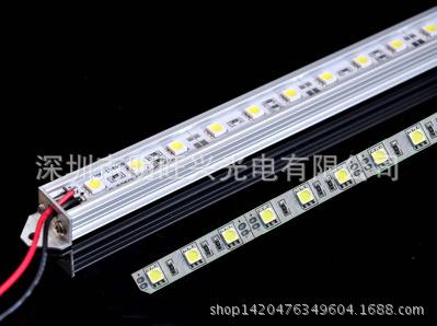 5050硬灯条 5730LED灯条5630 LED光条2835 LED硬灯条采用DC12V供电安全可靠亮度高寿命长