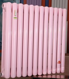 北京暖气片生产厂家批发钢制柱型暖气片散热器钢制椭圆管散热器