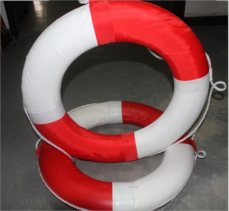 专业加厚塑料游泳池标准泡沫救生圈 救生圈 游泳圈 游泳胎 船用救生圈成人现货批发 生产厂家救生圈