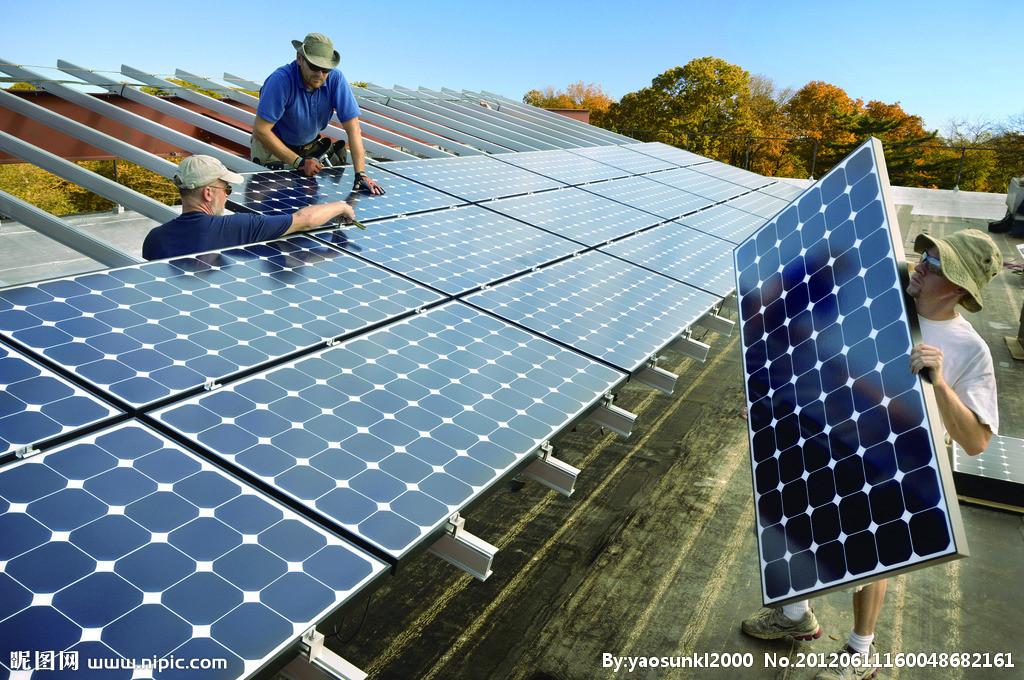 洛阳合胜 10KW太阳能发电系统 洛阳光伏发电系统 家用光伏发电