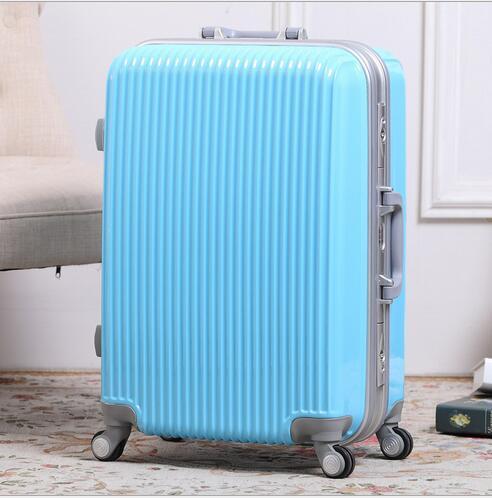 厂家直销旅行拉杆箱铝框箱登机箱20寸24寸28寸旅行箱厂家生产