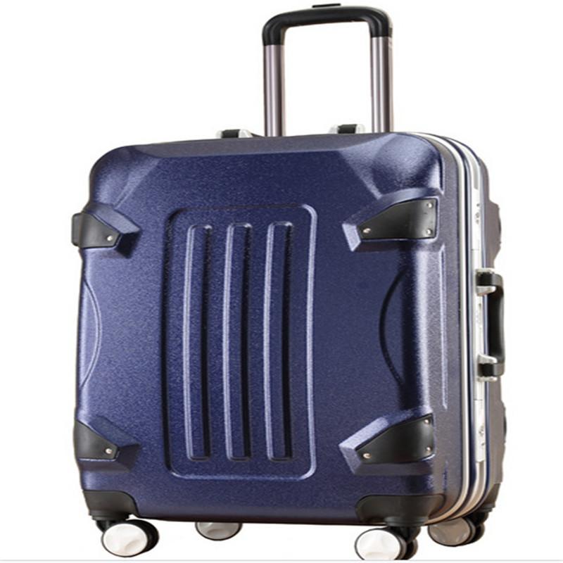 大黄蜂行李箱拉杆箱铝框箱变形金刚箱20寸24寸登机箱厂家批发