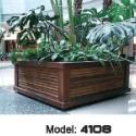 木制花箱花槽图片