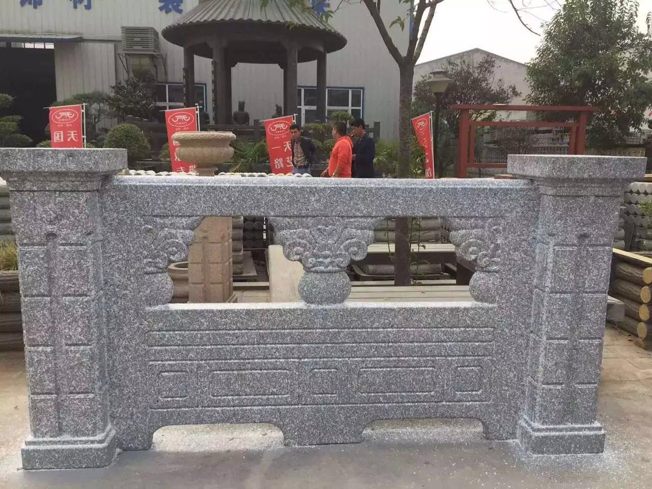 水泥制品、仿石栏杆、河堤护栏