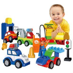 星斗城 儿童积木玩具宝宝益智塑料图片