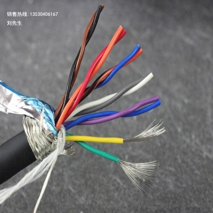 信号控制电缆线、12芯双绞屏蔽线、RVSP6×2×0.2