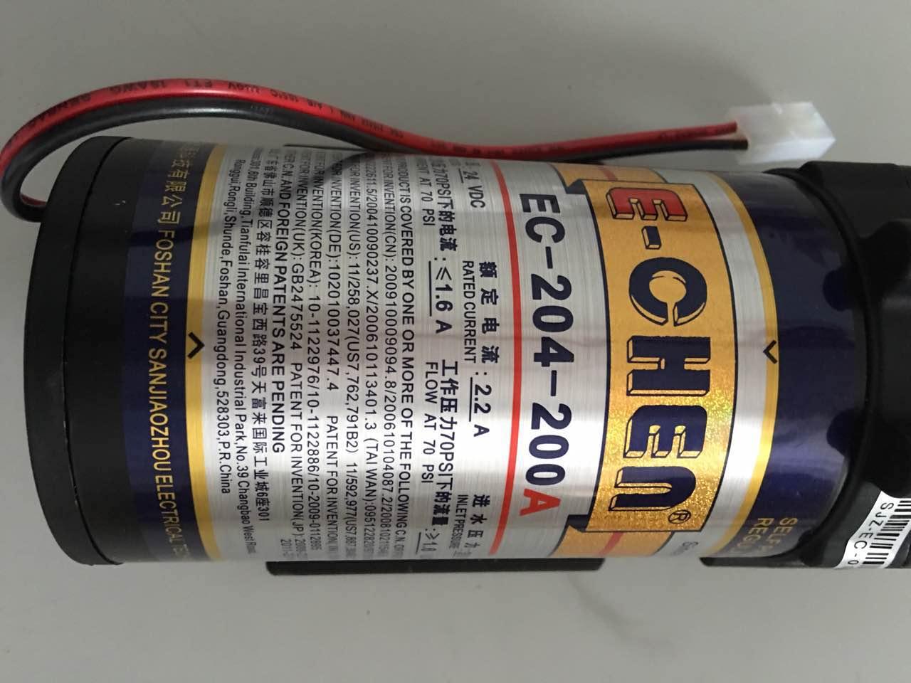 200加仑三角洲增压泵纯水机水泵 200G三角洲隔膜增压泵