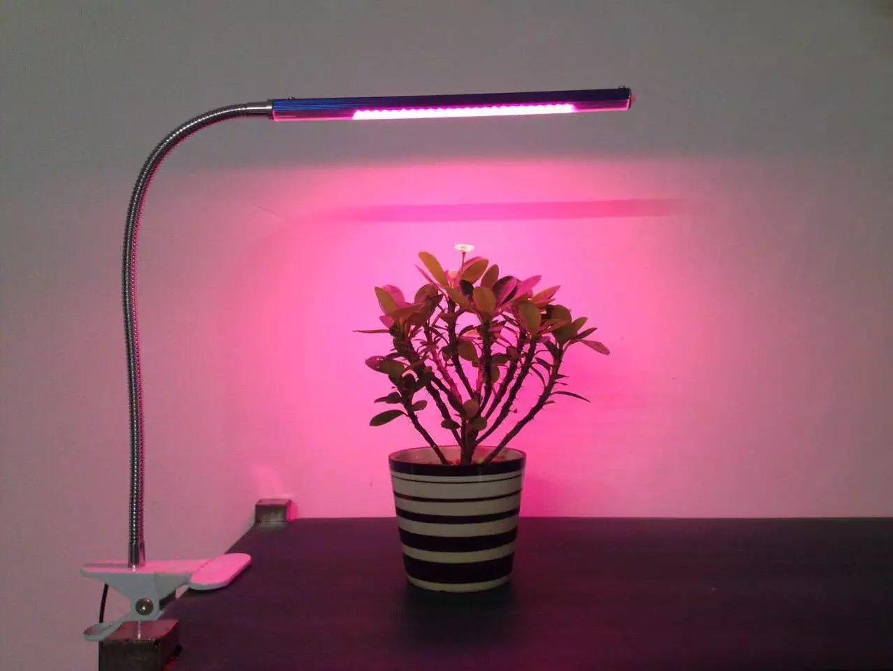 5WLED植物补光夹子灯 LED园艺植物补光夹子灯