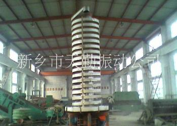焊剂振动垂直提升机螺旋提升机厂家图片