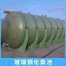 玻璃钢化粪池定制 地埋式平流式沉淀罐耐腐蚀FRP模压环保化粪池图片