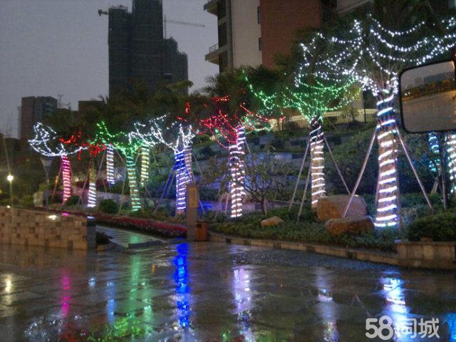 北京专业树灯彩灯安装、围栏灯串灯、造型灯、春节庭院灯布置
