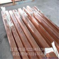 山东铜包铝排生产厂家 50*6铜铝复合排热卖 铜包铝排生产厂家 铜铝复合排价格
