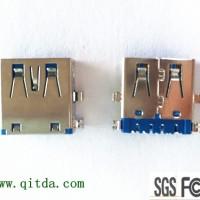 usb3.0母座厂家 90度,usb3.0母座连接器,usb3.0母座
