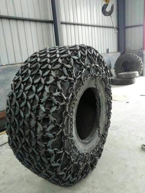 天津天威轮胎保护链 9.00-20型装载机防滑链20型压路机轮胎保护链  铲运机轮胎保护链  雪地机轮胎防滑链