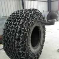 天津天威轮胎保护链 16/70-18型铲运机轮胎保护30型装载机轮胎防滑链  压路机轮胎保护链  铲车轮胎保护链