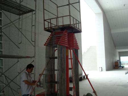 套缸式升降机 电动 液压升降平台 移动铝合金升降机 高空作业货梯