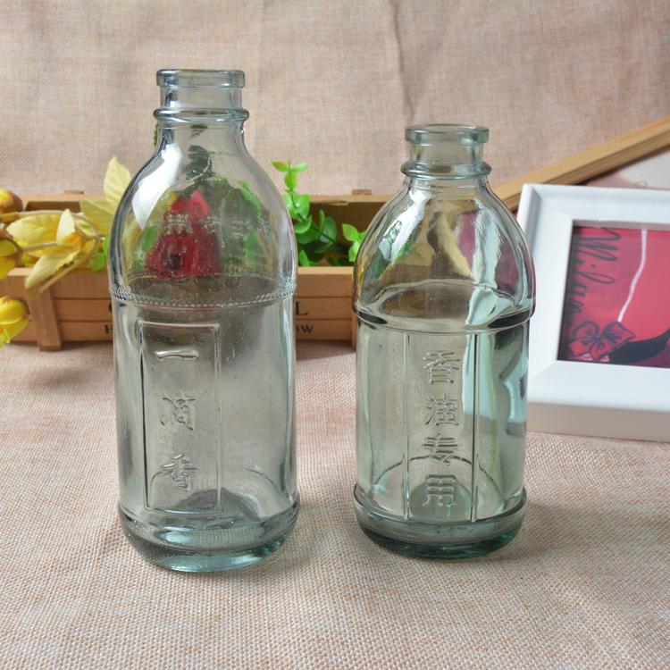 厂家直销玻璃瓶 香油瓶 可以定做