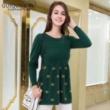 2017新款女装毛衣套头短款针织衫羊绒衫女款打底 羊绒衫裙子