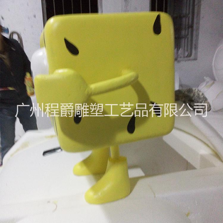 海绵宝宝泡沫卡通雕塑图片/海绵宝宝泡沫卡通雕塑样板图 (2)