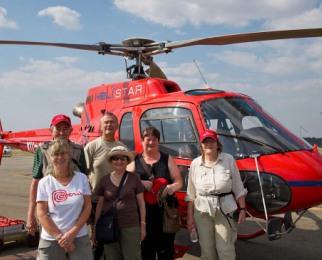 机械液压减震器是运用液压减震的原理,安装在直升机起落架上,在