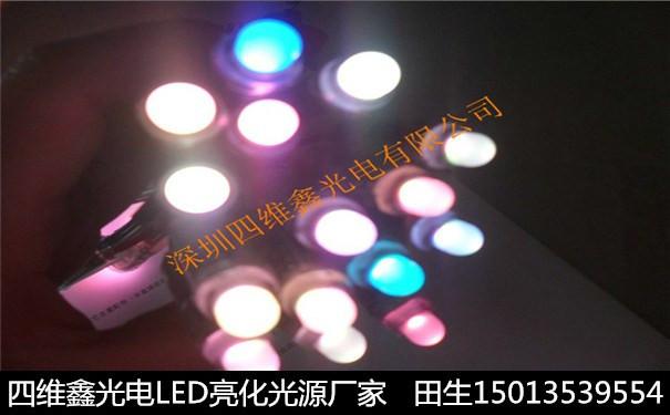LED全彩外露穿孔发光字防水灯串图片
