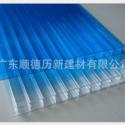 16mm PC阳光板 三层中空板 大型建筑采光棚 固得利卡布隆板