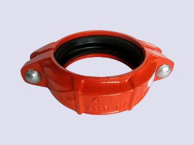 潍坊刚性接头是连接带沟槽的管件、阀门以及管路配件的一种连接装置 潍坊沟槽卡箍
