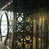 广东铝合金屏风厂家 隔断铝合金屏风图片 广东欧佰铝合金屏风供应