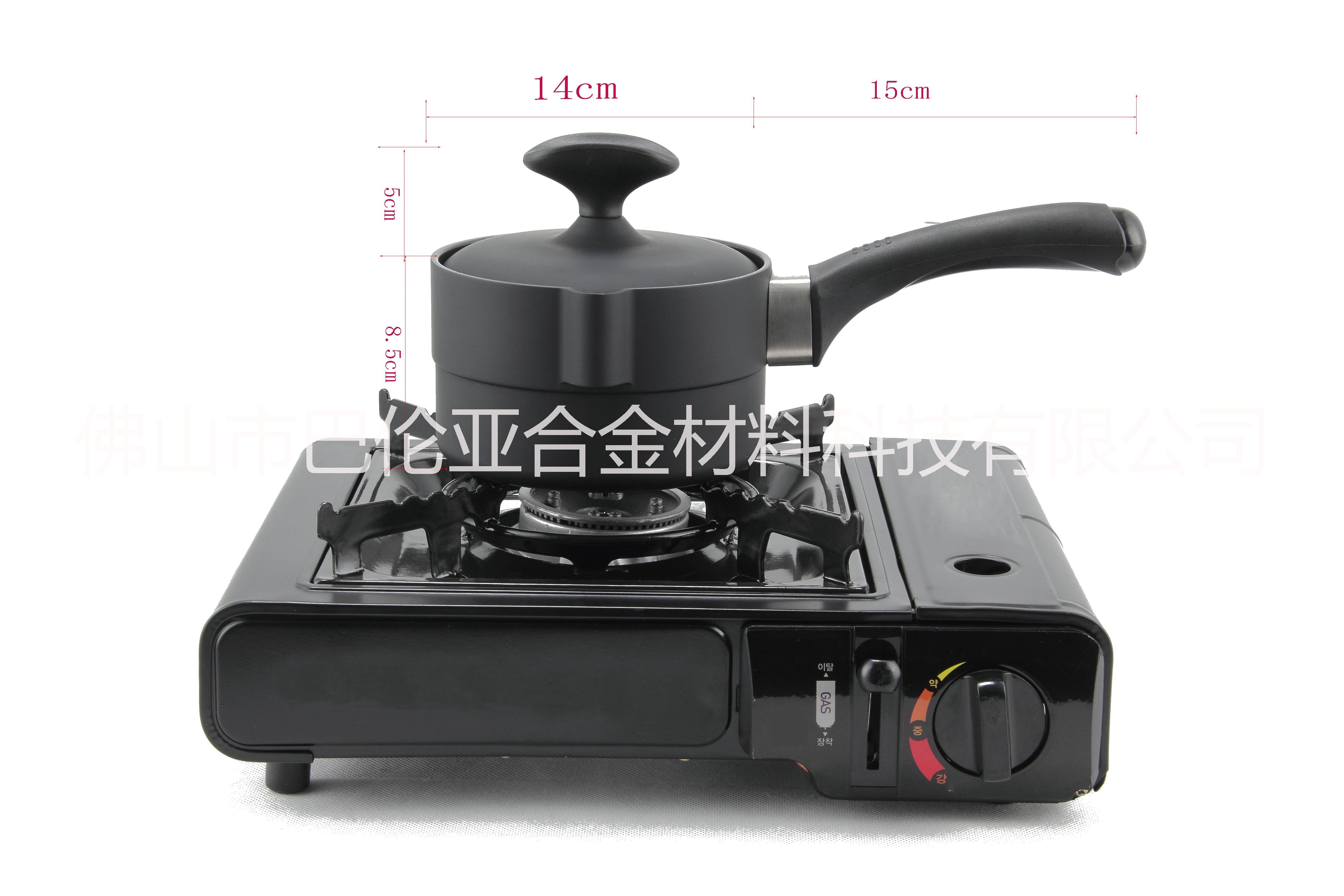 供应 Balun电磁炉通用不粘石墨锅  Balun不粘石墨奶锅