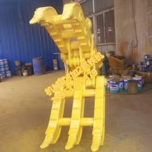 供应挖掘机机械式抓铁机抓木器3加2按客户需求定制龙抓手品牌