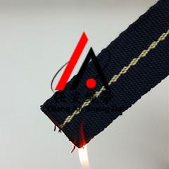 强安正压式呼吸器用阻燃织带 芳纶1313织带