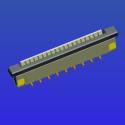 1.0mm间距带锁立贴抽屉式FP图片