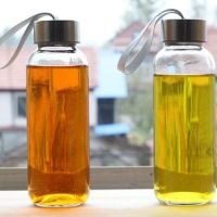 供应300-500毫升玻璃水杯 奶茶瓶 果汁杯批发 300-500毫升玻璃水杯奶茶瓶