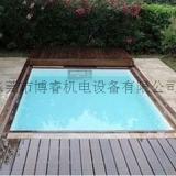 游泳池自动盖膜板 游泳池盖板 泳池盖板安全防尘保温盖板