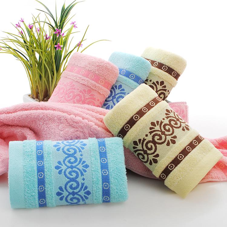 高阳厂家直销提花毛巾 高阳厂家直销提花朵毛巾