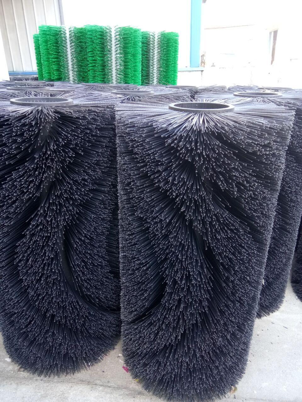 厂家直销清洗机毛刷辊 磨料丝毛刷辊 大型毛刷辊 非标定制毛刷辊
