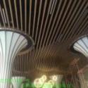 商城吊顶铝方通图片